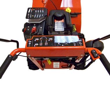 Simplicity Signature Pro P1524E Snow Blower Controls
