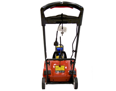 Toro 1800 Power Curve Electric Snow Blower Back