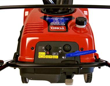 Toro Power Clear 621E Snow Blower Controls