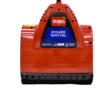 Toro Power Shovel Electric Snow Blower Back