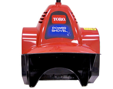 Toro Power Shovel Electric Snow Blower Front