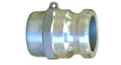Aluminum Male Camlock Adapter-Male NPT