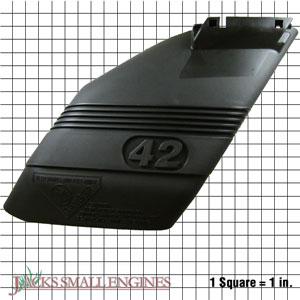 "42"" Mower Deflector Shield 532130968"