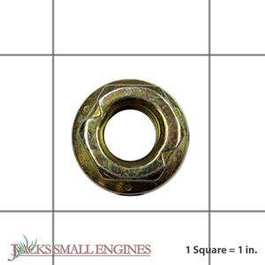 06542000 Locking Top Flanged Nut