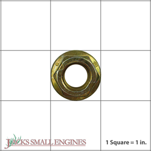 06543600 Locking Top Flanged Nut