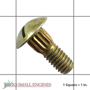 07028700 Ribbed Neck Bolt