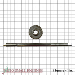 52100900 Assembly Worm Shaft And Gear