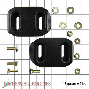 72600300 Non Abrasive Skid Shoe Kit