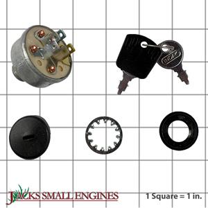 D18091 Electric Key Switch