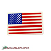 DECAL  AMERICAN FLAG