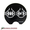 Differential Lock Decal 07864400