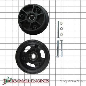 "1053 4"" Zytel Wheel w/ Precision Ball Bearings"