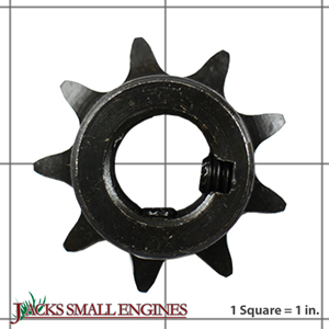 "2102 9 Tooth ""B"" Type Sprocket for #40/41 Chain"