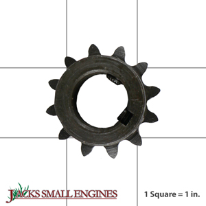 """2140 12 Tooth """"B"""" Type Sprocket for #35 Chain"""
