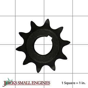 """2181 10 Tooth """"C"""" Type Sprocket for #40/41 Chain"""