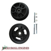 "4"" Zytel Wheel w/ Precision Ball Bearings 1053"