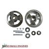 "5"" Aluminum Tri-Star Wheels w/ 3/4"" ID Tapered Roller Bearing 1137"