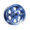"""8"""" Aluminum Spinner One Wheel Half - Side 2 Only  8021"""