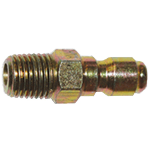 "1193 3/8"" MPT Zinc Coated Steel Plug"