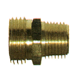 "3/4"" MGH X 1/2"" MPT Brass Coupling 2348"