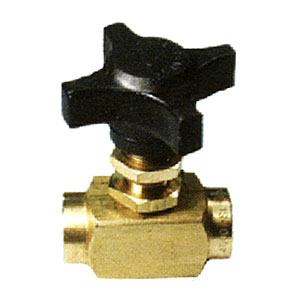 1296 Brass Chemical Metering Valve