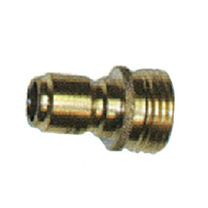 1739 Brass Garden Hose Quick Connect Plug