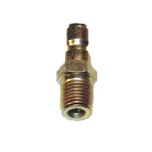 "1993 1/4"" MPT Zinc Coated Steel Plug"