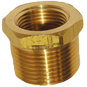 "2083 1/2"" mpt X 3/8"" fpt Hex Bushing"
