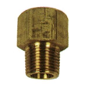 """1722 1/4""""fpt X 1/4""""mpt Brass Adaptor"""