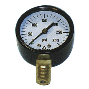 "2423 1/4"" MPT Fuel Pressure Gauge"