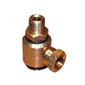 2608 90° Brass Swivel