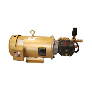 "2664 Baldor 5.0 HP 3 Phase C-Face 1 1/8"" Shaft TEFC Motor"