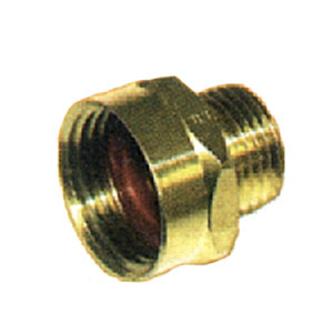 """3/4"""" FGH X 3/4"""" FPT Brass Coupling 3251"""