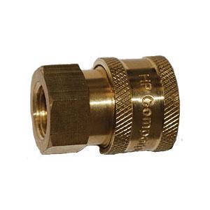 "3719 1/4"" FPT Brass Socket"