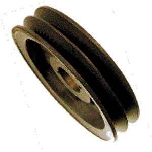 "3808 3.95"" OD Double Groove Pulley Sheaf"