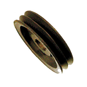 """3828 8.75"""" OD Double Groove Pulley Sheaf"""