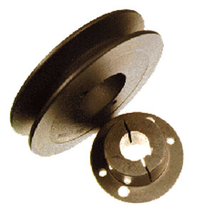 "3949 3.95"" OD Single Groove Pulley Sheaf"