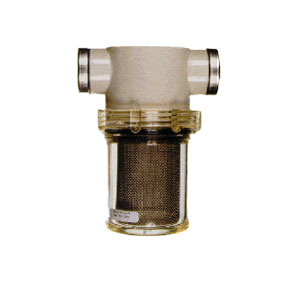 """4422 3/4"""" FPT 80 Mesh Clear Bowl Water Filter"""