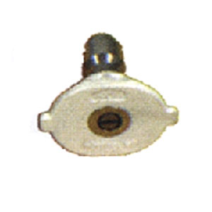 "4779 1/4"" Hydrojet 40° Quick Change White Nozzle"