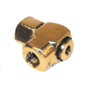 """Brass Swivel 90°  1/2"""" Inlet and Outlet 5344"""