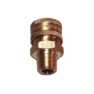 "5655 1/4"" MPT Brass Socket"