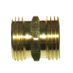 "3/4"" MGH X 3/4"" MGH Brass Coupling 5844"