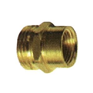 """3/4"""" MGH X 1/2"""" FPT Brass Coupling 3511"""