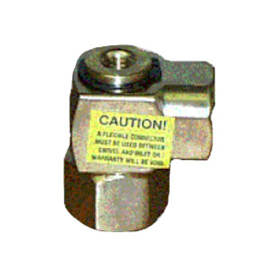"""1935 Brass Swivel 3/8"""" Inlet and Outlet 5977"""