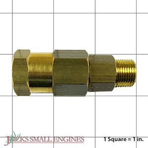 """6244 3/8"""" Brass In Line Swivel"""