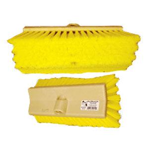 "6287 10"" Yellow Hi-Lo Truck Brush"