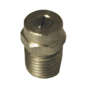 "6574 Hydrojet 1/4"" MPT  40° Spray Nozzle"