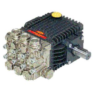 6882 24mm HTX Series Solid Shaft Triplex Plunger Pump