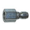 "3/8"" FPT Zinc Coated Steel Plug 1192"