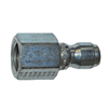 "1/4"" FPT Zinc Coated Steel Plug  1194"